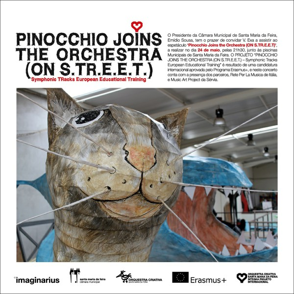 Pinochio Joins the Orchestra