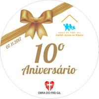 "10.º Aniversario do CAFAP ""Quinta do Ribeiro"""