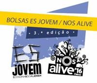 Bolsas ES JOVEM / NOS ALIVE 2016 | Candidaturas abertas