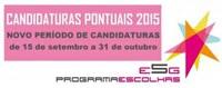 Candidaturas ao Programa Escolhas - projetos pontuais