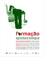 Formação em Agricultura Biológica - Inscrições Abertas