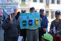 Marcha pelo Ambiente contou com a participação de cerca de 1300 pessoas