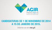Prémio Agir 2015 | REN - Redes Energéticas Nacionais
