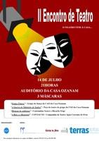 """Realizou-se no dia 14 de julho o """"II Encontro de Teatro: O Teatro Vem à Casa…"""", organizado pela Casa Ozanam"""